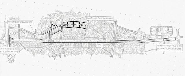 Quy hoạch dự án đường Hồ Sen – Vinhomes Cầu Rào 2
