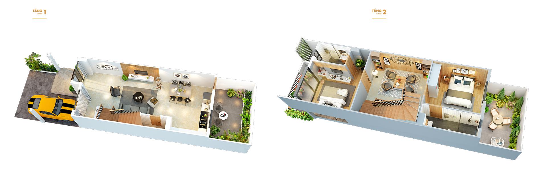 Mẫu thiết kế căn liền kề Vinhomes Cầu rào Hải Phòng ( dự kiến )