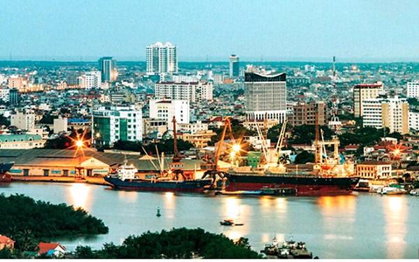 Thành phố Hải Phòng nhìn từ trên cao