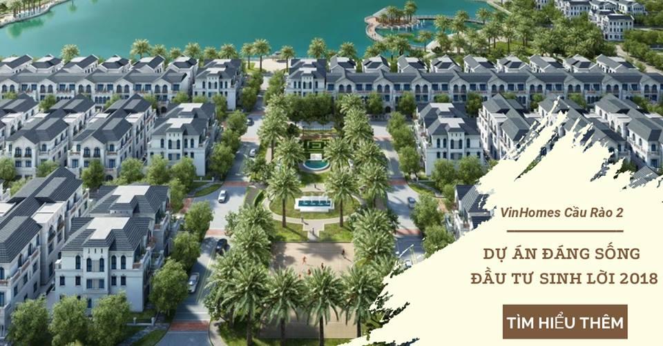 Đầu tư biệt thự vinhomes tại Hải Phòng cótính thanh khoản tốt