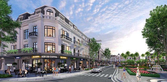 Sử dụng diện tích Shophouse thương mại Vinhomes Cầu Rào hợp lý