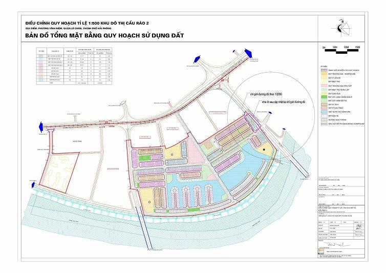 quy hoạch mặt bằng dự án vinhomes tại cầu rào
