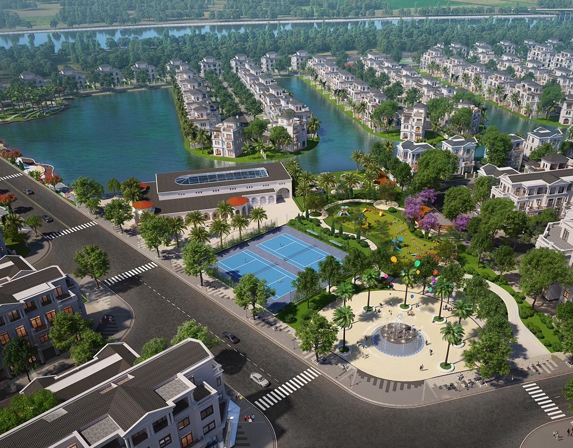 Không gian xanh dự án Vinhomes Marina