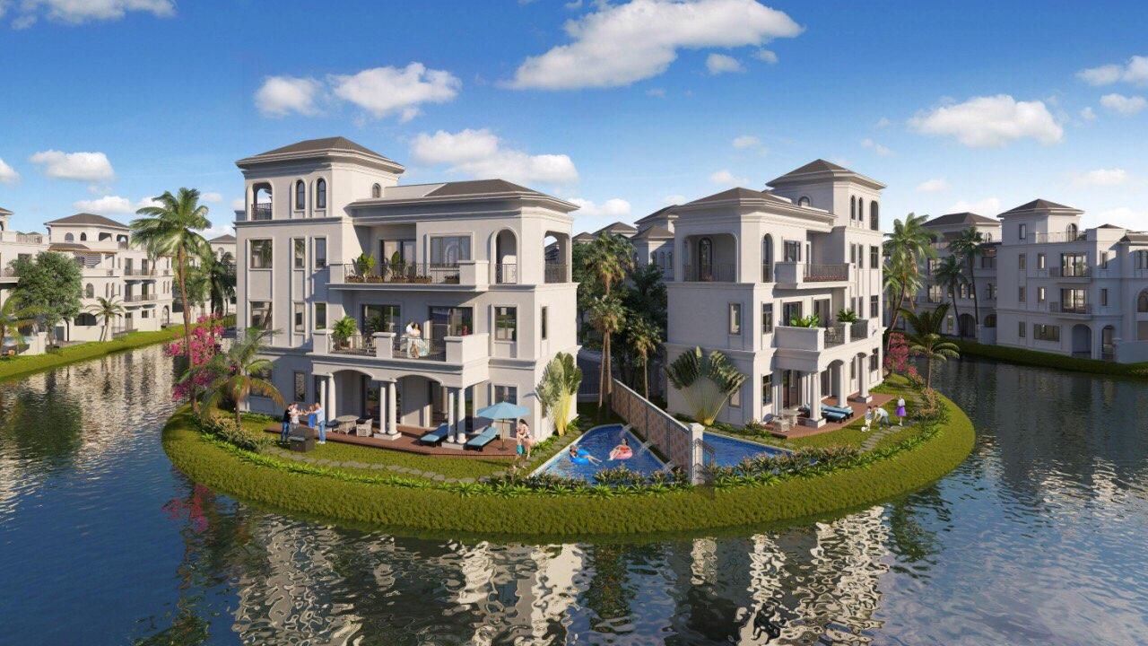 Biệt thự dự án Vihnhomes Marina