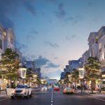 Diện tích căn Shophouse tại phân khu San Hô là bao nhiêu ?