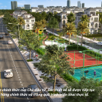 Mặt bằng phân khu ngọc trai dự án Vinhomes Cầu Rào cập nhật 2019