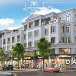 Cho thuê Shophouse mặt đường Võ Nguyên Giáp dự án Vinhomes Cầu Rào 2, Hải Phòng