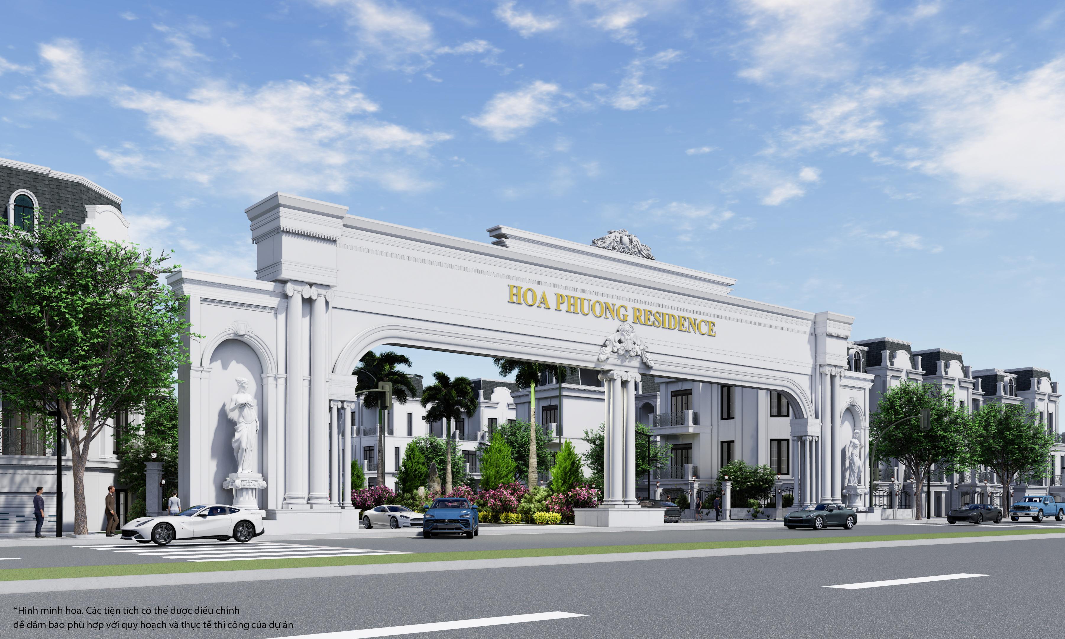 Dự án Hoa Phượng Residence Hải Phòng